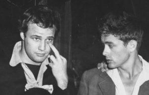 James Dean e Marlon Brando